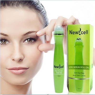 New Cell Eye Serum Roll On Anti Eye Dark Circle Serum Mata Deals for only Rp35.000 instead of Rp35.000