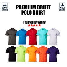 WHOLESALE | CROSSRUNNER | DRI FIT | SHORT SLEEVE | POLO TEE | PLAIN | UNISEX