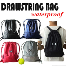 ★UNDER ARMOUR★ Mutifunctional High Capacity Divisonal Waterproof Antifouling Indestructible Drawstring Bag/Backpack/Sling Bag/Messenger Bag/Sackbag/Soccer Basketball Bags/Best Gifts