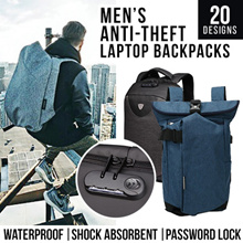 Men Anti-theft Run Away Travel Laptop Backpacks/Suitcase/Carry-on Luggage/20 over designs to choose from