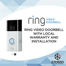 Ring 2 Video Doorbell (1 Year Local Warranty)