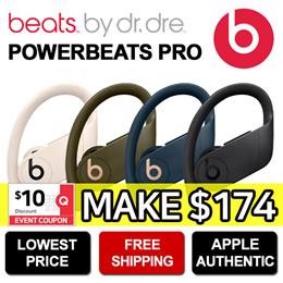 Beats by Dr. Dre POWERBEATS PRO Wireless Earbuds Earphone ★ Bluetooth Earphone / APPLE