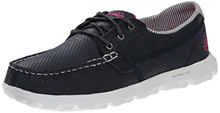 Skechers Performance Womens On-The-Go Flagship Slip-On Boat Shoe
