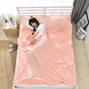 images: 3 Bed sheets / travel dirty sleeping bag Portable liner indoor double single anti-dirty sheets
