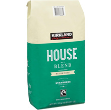 Kirkland Signature STARBUCKS House Blend Coffee (Whole Bean) 1.13kg