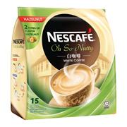 NESCAFE IPOH WHITE COFFEE. AVAILABLE IN HAZELNUTORIGINAL NEW LATTE MOCHA AND LATTE CARAMEL
