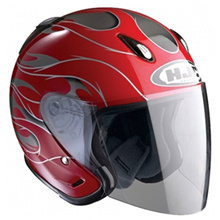 [HJC] CH-5 FORCE / MC-1 Open Face Motorcycle Helmet RED S,M,L,XL size