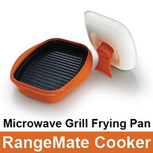 Microwave Range Mate microwave cookware oven Nonstick for fish Steak meat vegetable grill Pan