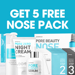 [SKINMISO] SKINMISO Products: pore corset serum/ pore zero night cream/ nose pack/ perfect pore care