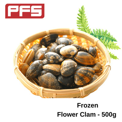 [Frozen Flower Clam]-500g/pkt