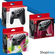 Nintendo Switch Pro Controller (Black Splatoon Edition Xenoblade Edition)