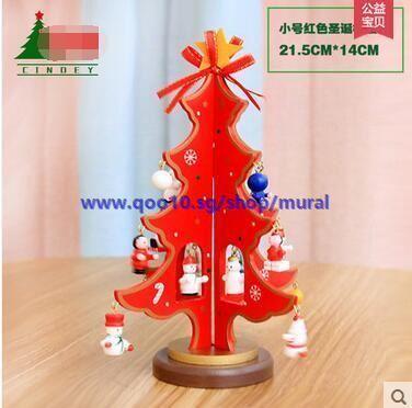 Christmas Counter.Christmas Tree Decoration Small Christmas Tree Christmas Counter Cash Register Decorative Christmas