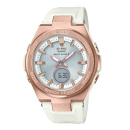 CASIO BABY-G CHRONOGRAPH MSG-S200G-7ADR ROSEGOLD WOMENS WATCH