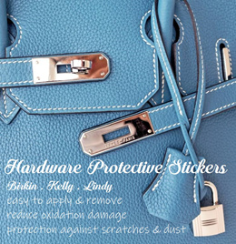 b5c9fcdc2f4 Hardware protective stickers   films for Hermès Birkin Kelly and Lindy