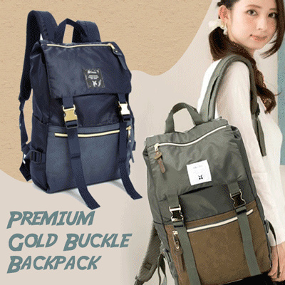 Anello Gold Buckle! tas wanita! backpack