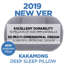 ⭐NEW⭐[100% Made in Korea] ★3D Multi-dimensional design★ kaka mong deep sleep air ball pillow drug