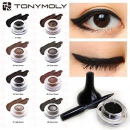 [TONYMOLY]New Back Gel Eyeliner Long Brush_15mm Long Brush 4g/ Waterproof Brush Liner/Eye liner/ Eye Makeup/
