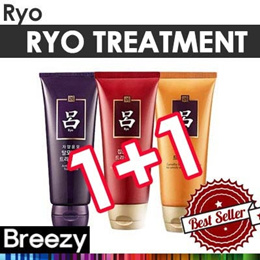 BREEZY ★ 1+1 EVENT! [RYO] Treatment / Korean No.1 Hair Care Brand / Jasaenghwacho / Vitalizing / Glo