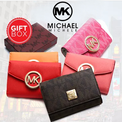 6d3f0314a980 COUPON  Free Shipping☆free gift box event☆All Flat Price☆MichaelMichele  12style☆wallet