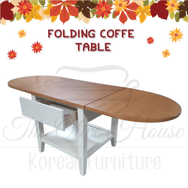 [New Product] Folding Coffe Table Oak Deals for only Rp1.390.000 instead of Rp1.390.000