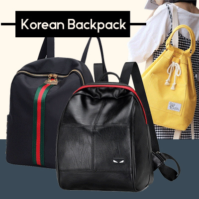 New Collection Women Korean Backpack Deals for only Rp85.000 instead of Rp85.000