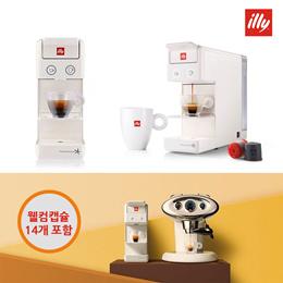 ★독일 현지샵★일리 프란시스 Y3.2 신형 화이트 Illy Y3.2 Coffee Machine 관부가세 포함 추가금액 제로!