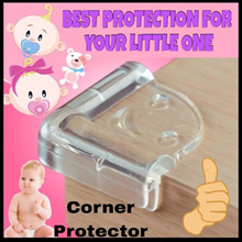 Baby Child Safety L Shape Round Shape Corner Protectors Edge Guard Cover