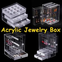 [MEGA SALE] Acrylic Display Jewelry Box/Earrings Display/Jewelry Box