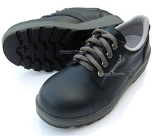 New K2SAF Navy Safety Work Shoes Steel Toe Cap work oil resistant Non-Slip