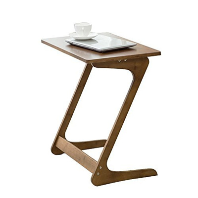 Nnewvante Sofa Table Tv Tray Couch Sofa End Table Laptop Desk Bamboo Coffee Table Side Table Sna