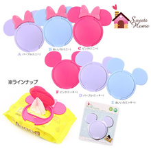 [BUY 3 GET 1 FREE/ FREE GLUE DOTS/DELIVERY] Reusable Wet Tissue Baby Wipes Cover Cute Mickey Minnie