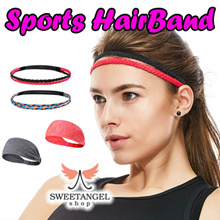 (SweetangelShop) Sports Hair Bands / Anti Slip / Elastic bands