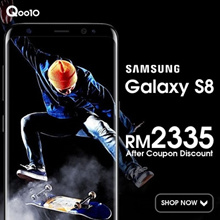 (Buy at RM 2335 with RM 250 coupon discount) SAMSUNG GALAXY S8 4GB/64GB - Samsung Malaysia Warranty