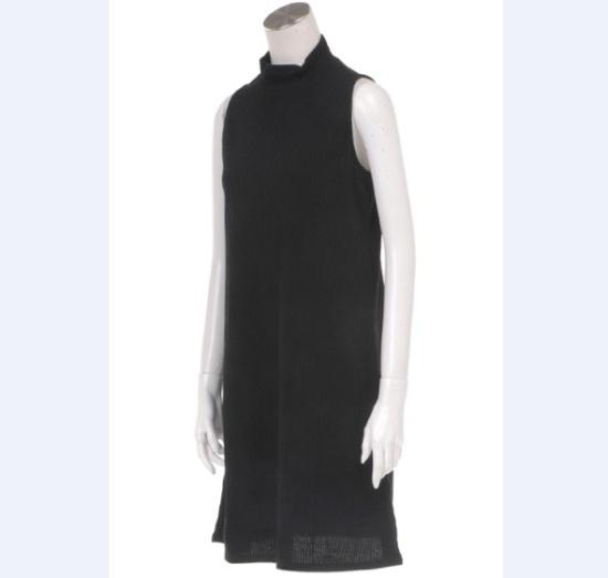 ギャップ女性mockneck、袖なしのゴルジと組み立てワンピース5127340014099 面ワンピース/ 韓国ファッション