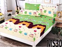 MIMIKO SINGLE SIZE FITTED BEDSHEET