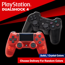 PS4 Dualshock 4 Wireless Controller // Solid / Crystal Colors // Assorted