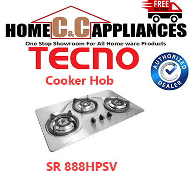 TecnoTECNO Cooker Hob / Gas Table / Stove / SR 888HPSV | FREE DELIVERY |