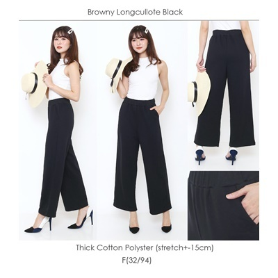 Browny Longcullote Black