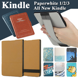 Smart Ultra-thin Handing Cover Flip Case for [Kindle Paperwhite 1/2/3 Casing][All New Kindle Shell][Kindle 6/7th Gen Cover] Full Coverage Protector Guards High Quality