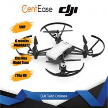 DJI Tello Drones - White| 5MP| 13m Max Flight Time| 720p HD