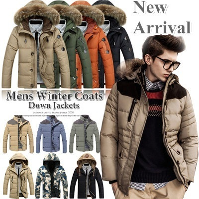 [FREE SHIPPING]Men\u0027s Winter Coats/Down Jackets/Fashion Winter Wear/Afs