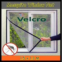 mosquito/Insect Window Screen Mesh Net Curtain Anti-Insect Fly Bug Mosquito Invisible Simple Net