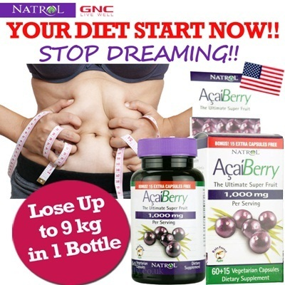 USA Natrol ACAI BERRY DIET/ AcaiBerry Diet Acai Green Tea Super