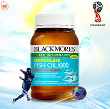 Blackmores Odourless Fish Oil 1000 400s (Expiry 2019/11)