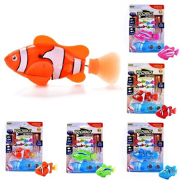 New Robofish Activated Battery Powered Robo Fish Toy Fish Robotic Pet Gift