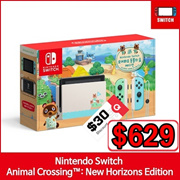 [Ready Stock] Nintendo Switch Animal Crossing Console Edition ★