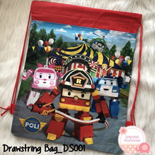 【Drawstring Bags】Kids Goodie Bags / Party Gift Bags / Childrens Day Gift / Birthday Gift