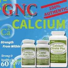 [FREE GIFT][GNC Bone Health] Calcium plus/Coral Calcium/Calcium Citrate Plus 180 Caplets