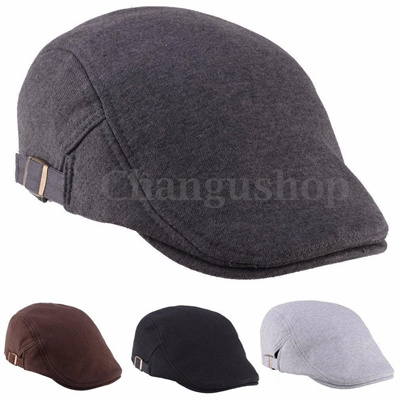 dd1033bb656 New Mens Retro Baker Boy Peaked NewsBoy Country Outdoors Golf Hat Beret  Flat Cap