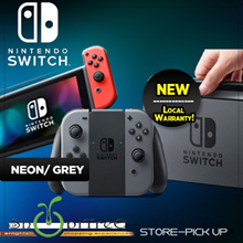 New Nintendo Switch Standalone. Grey / Neon Blue Red. Play At Home, Play Anywhere, Share the Fun! Local Stocks and Warranty by Maxsoft!